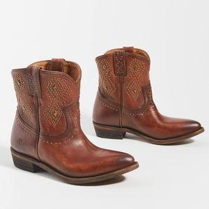 Frye Billy Studded Cowboy Boots